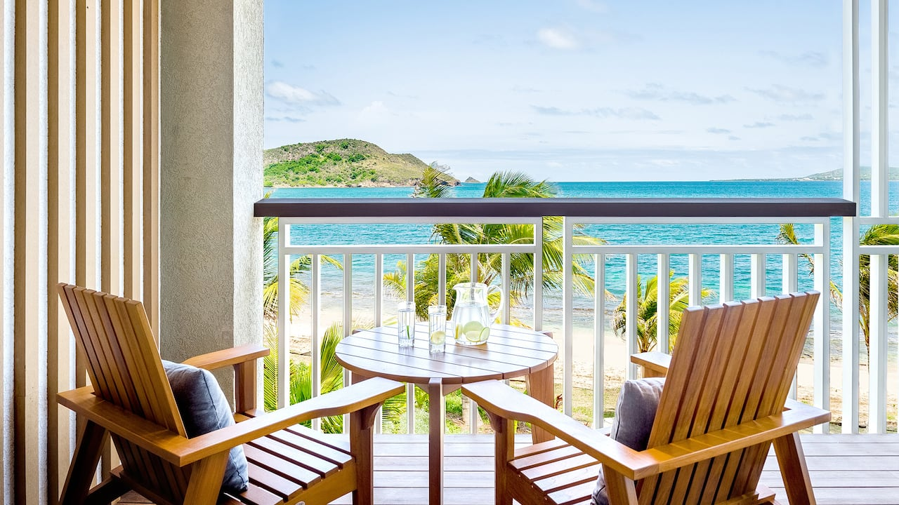 Park Hyatt St. Kitts Christophe Harbour Guestroom Balcony