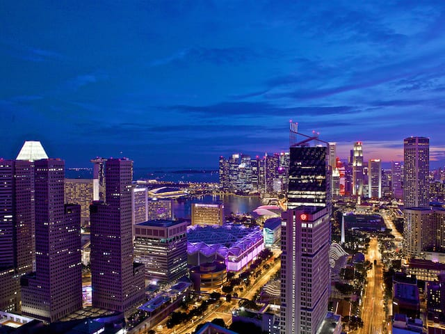 Andaz hotel views of the most beautiful skylines in Singapore