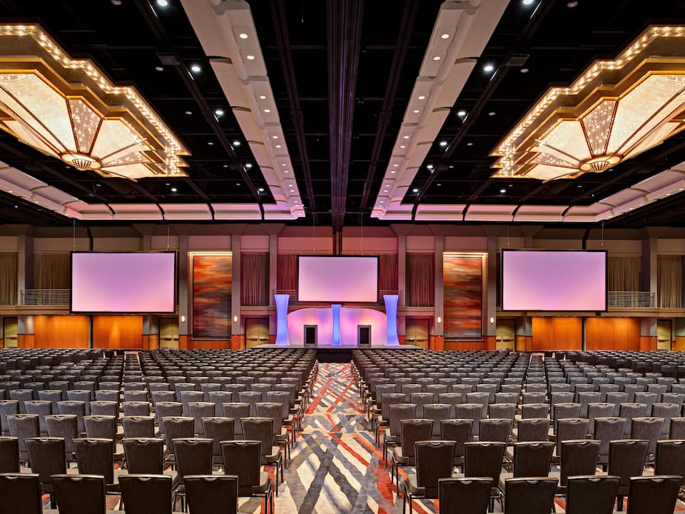 Landmark Ballroom Theater Style Hyatt Regency Dallas