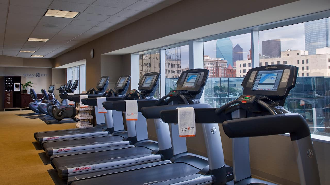 24/7 Fitness Center Hyatt Regency Dallas