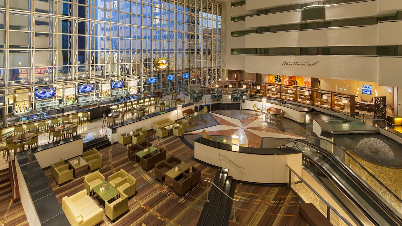 Lobby Hyatt Regency Dallas