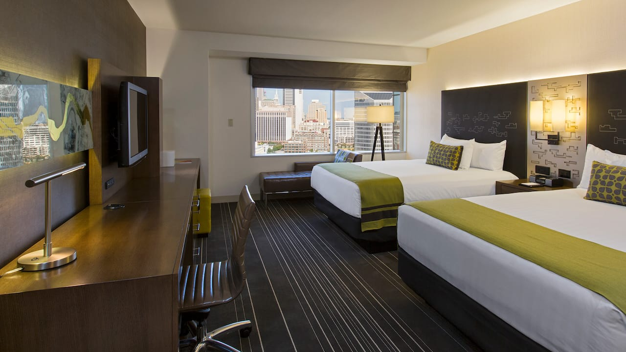 Double Queen Bedroom Hyatt Regency Dallas