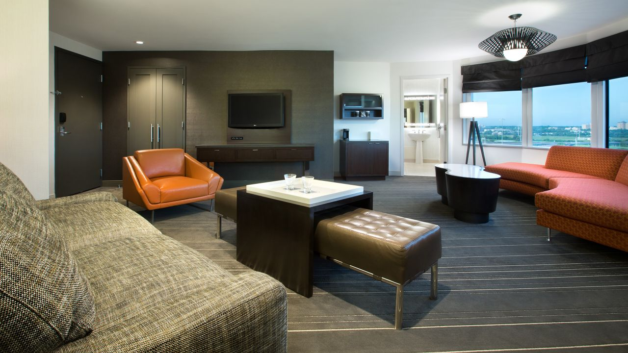 One Bedroom Horizon Suite Hyatt Regency Dallas