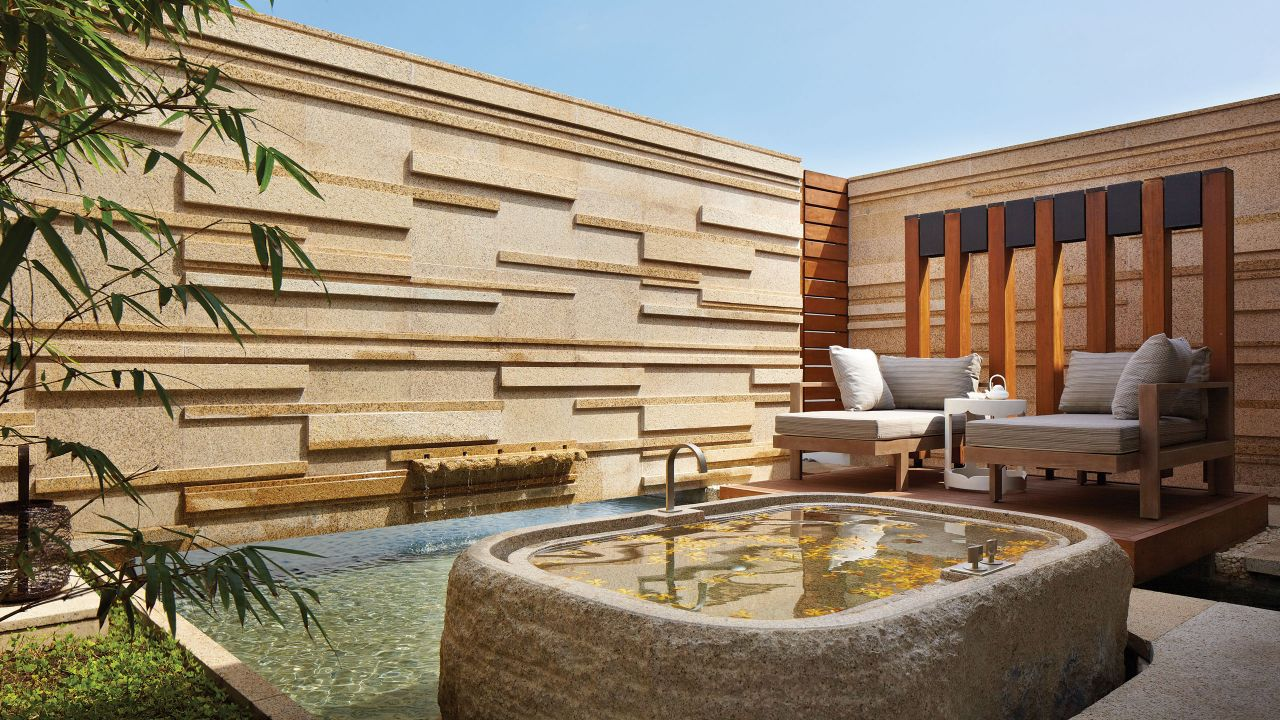 Spa Outdoor Bath