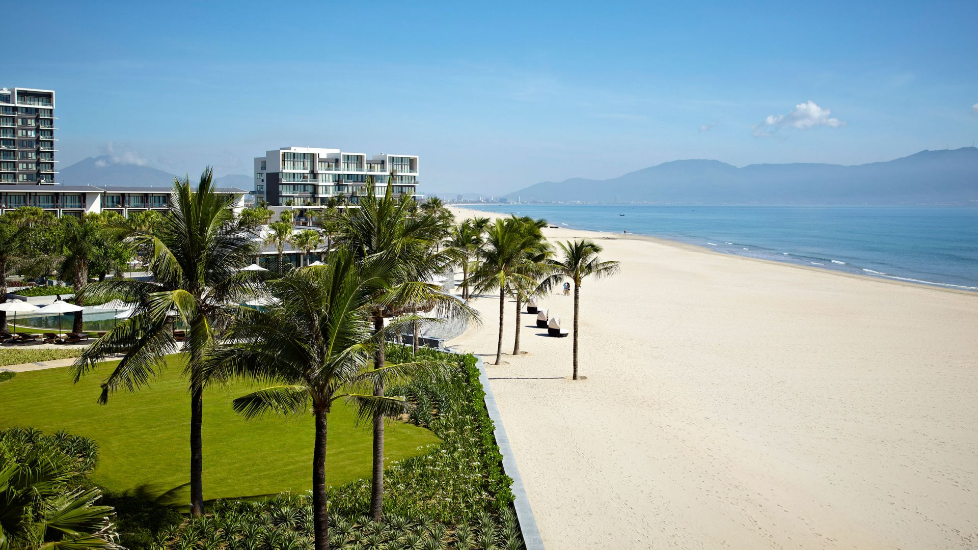 Luxury Beach Resorts Hyatt Regency Danang, Vietnam