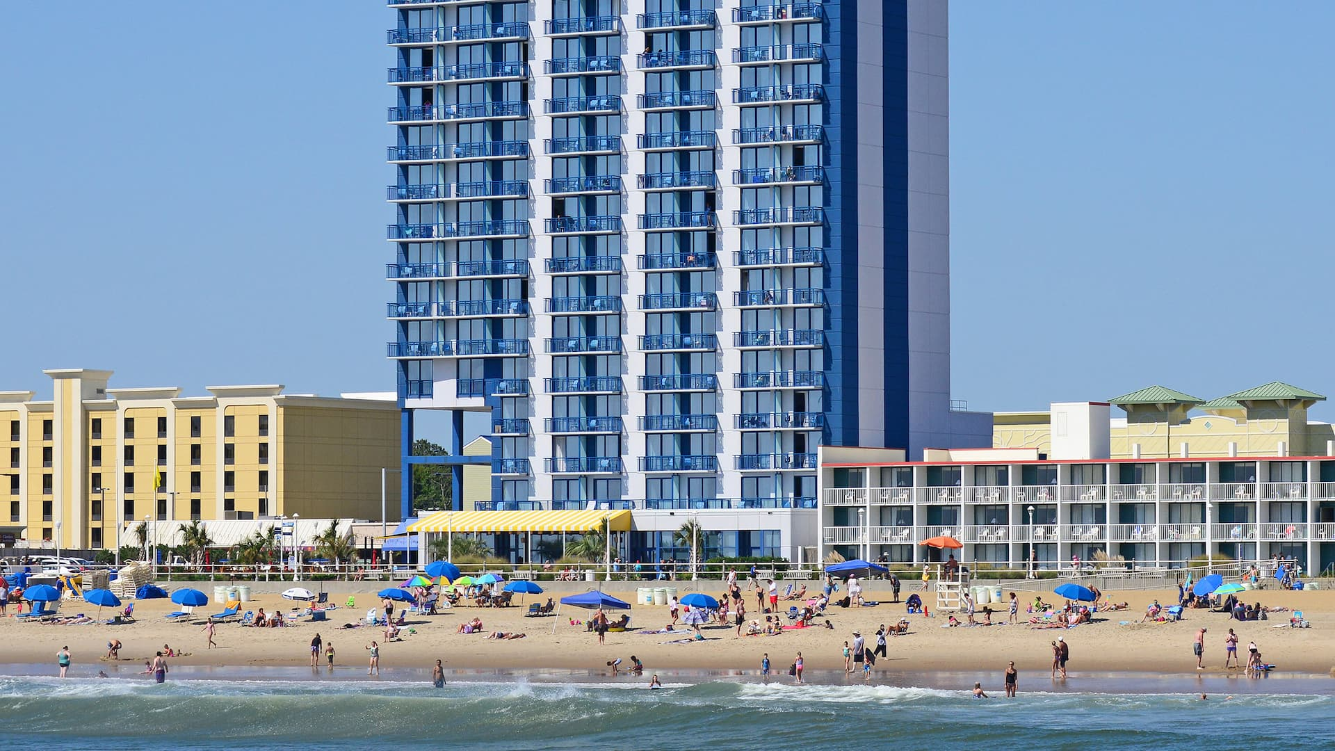Exterior View Hyatt House Virginia Beach / Oceanfront