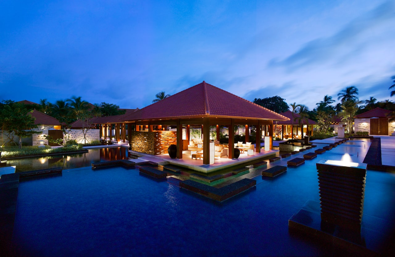 Authentic Balinese Kriya Spa with 24 luxurious spa villas (Grand Hyatt Bali)