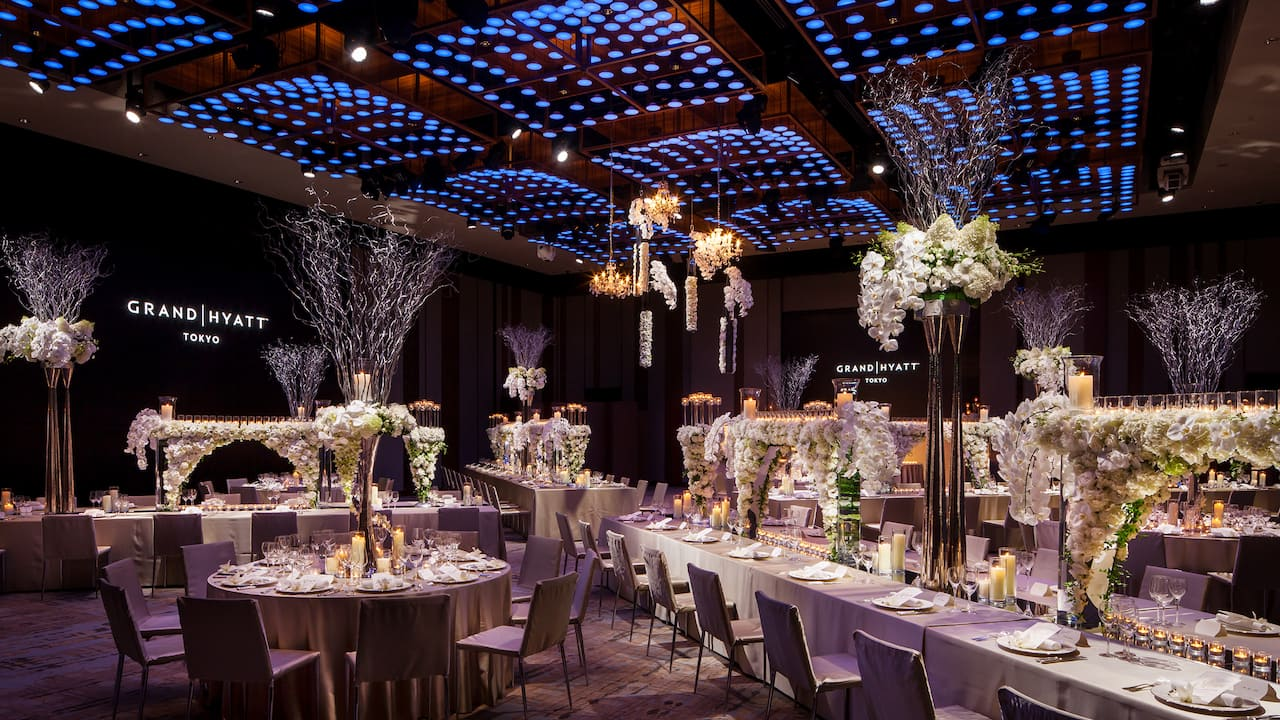 Grand Ballroom East/West for wedding display2