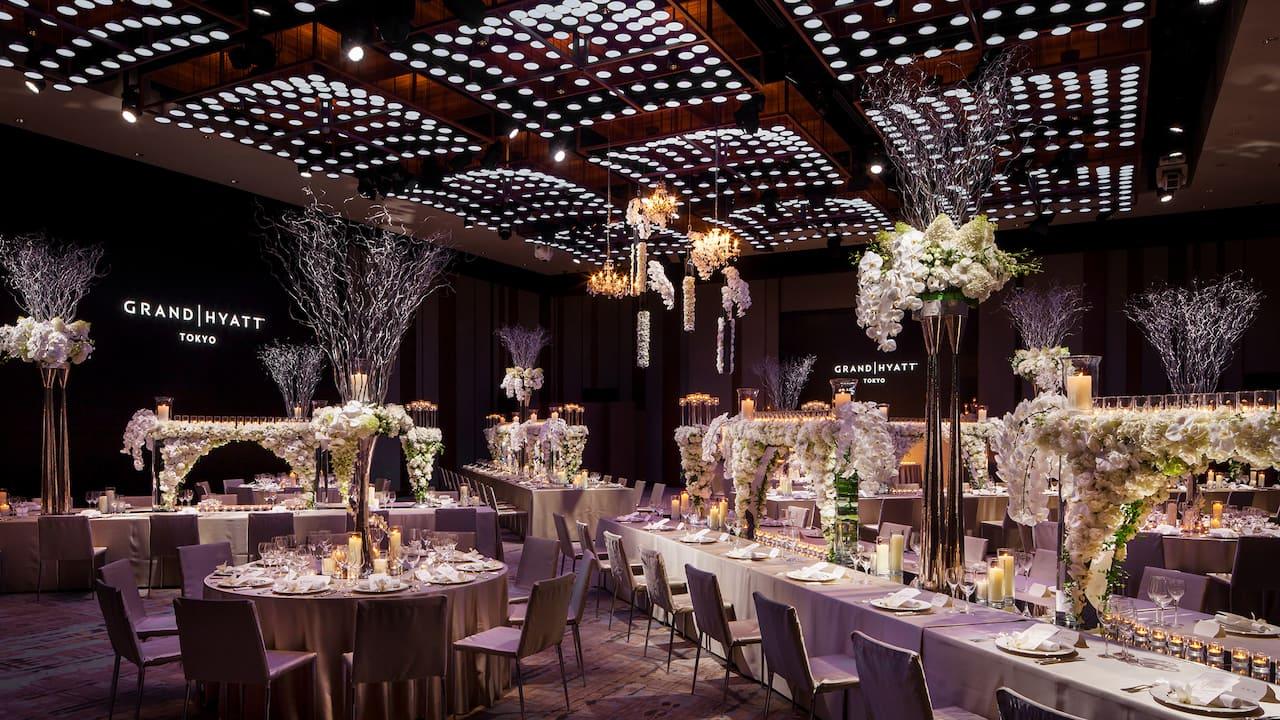 Grand Hyatt Tokyo Wedding Grand Ballroom グランド ハイアット 東京 ウエディング グランド ボールルーム