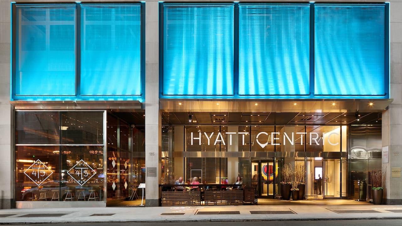 Hyatt Centric Times Square New York Hotel Exterior