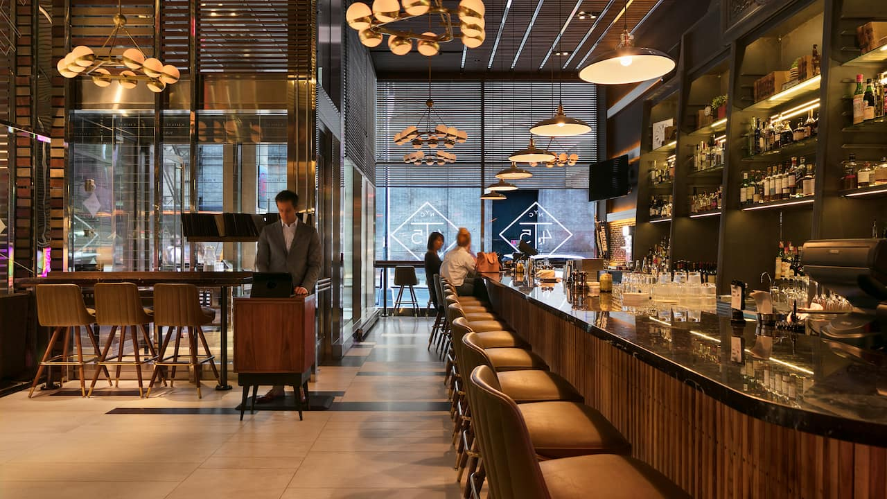 Hyatt Centric Times Square New York T45 Restaurant Bar