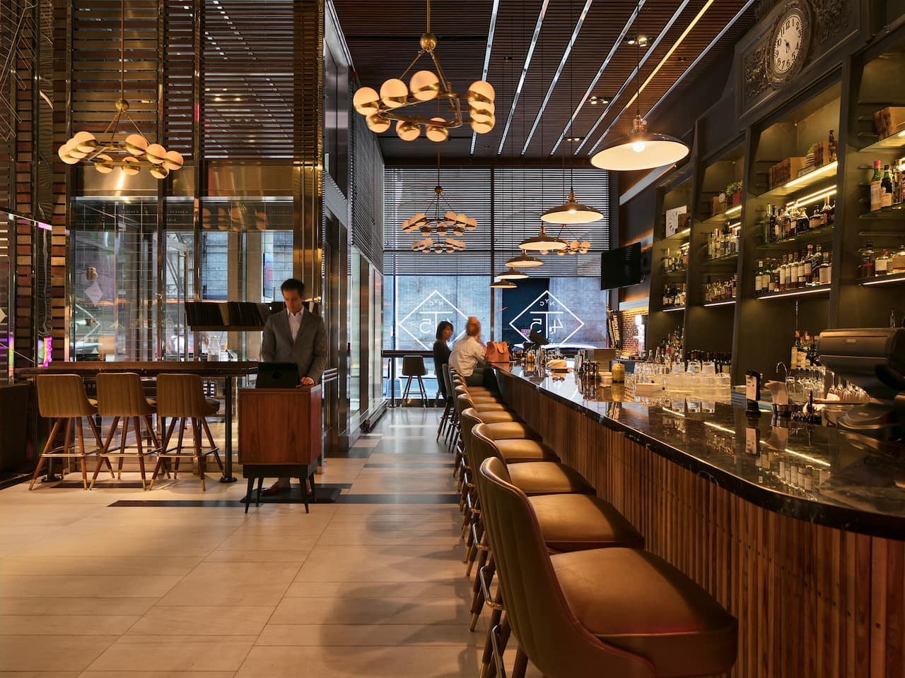 Hyatt Centric Times Square New York T45 Restaurant and Bar