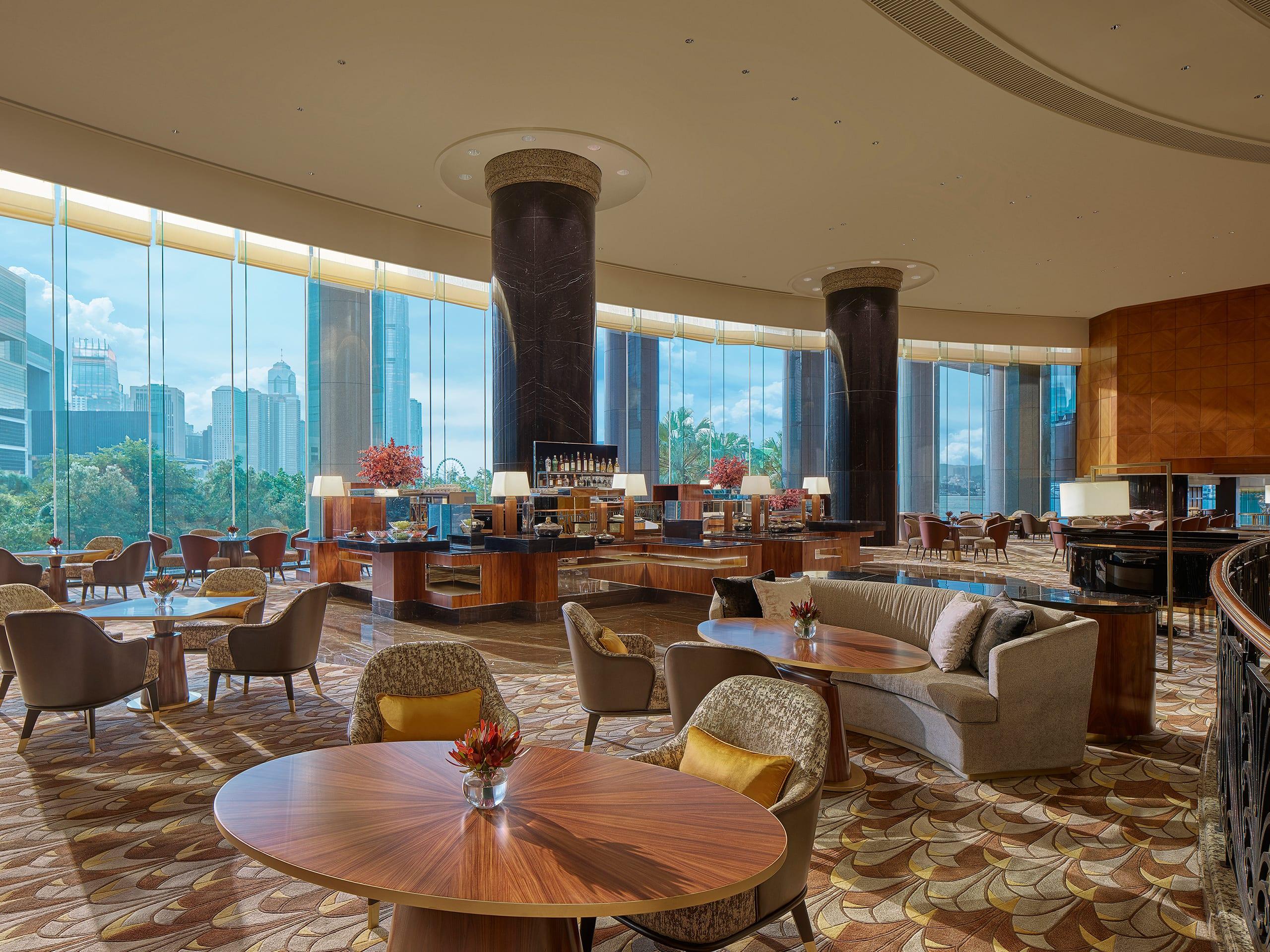 Best Hong Kong Hotel Restaurants And Bars Grand Hyatt Hong Kong