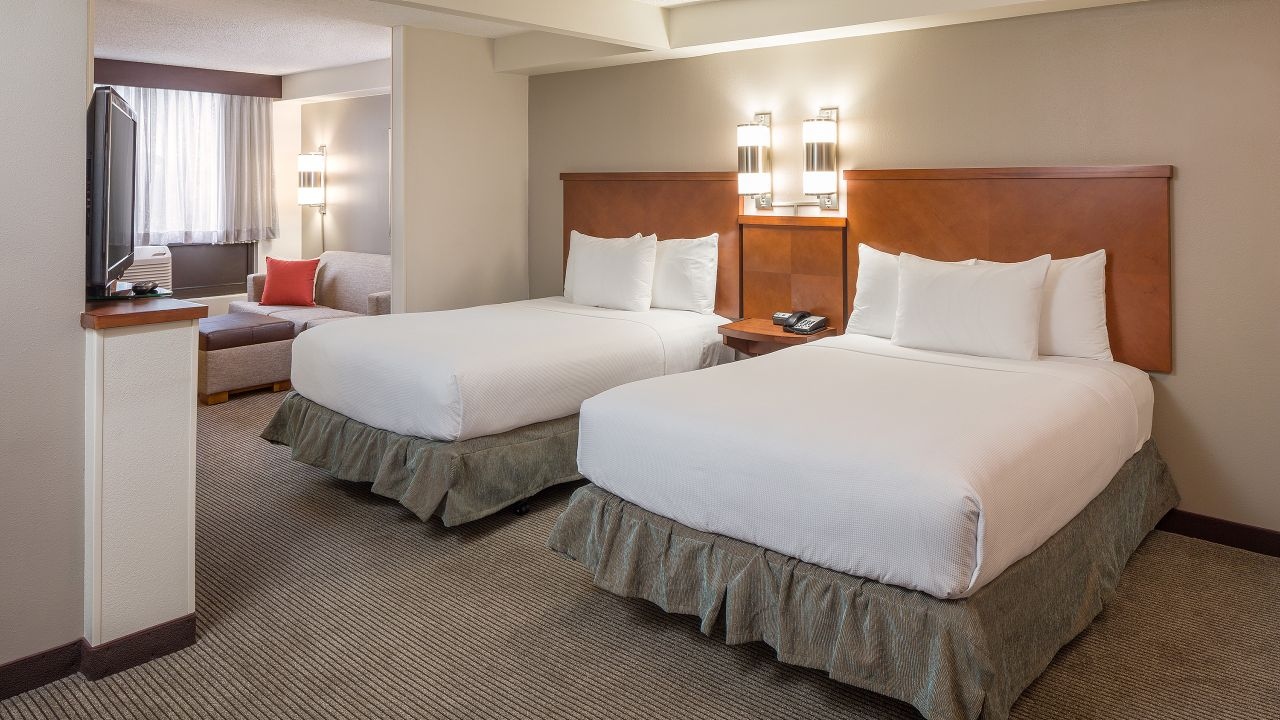 Double beds