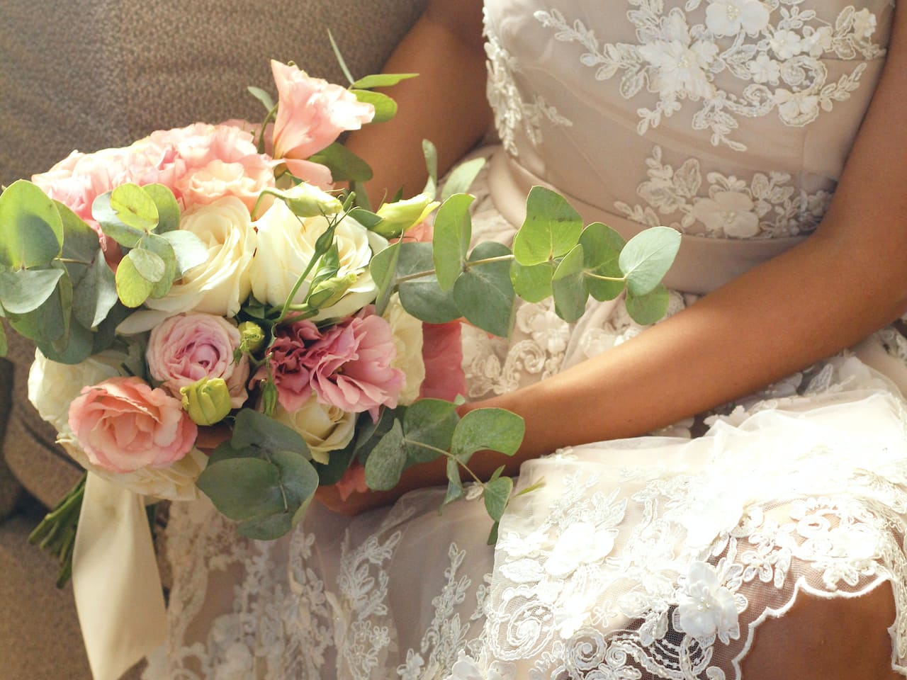 wedding flower bride