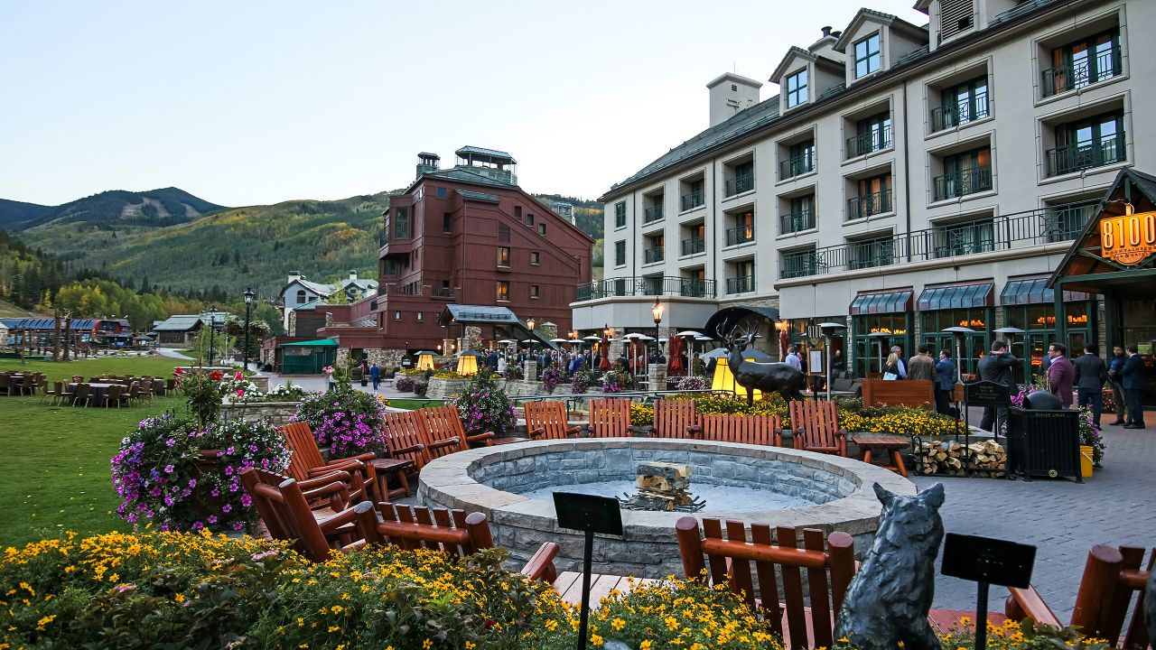 Park Hyatt Beaver Creek Outdoor Space in Summer