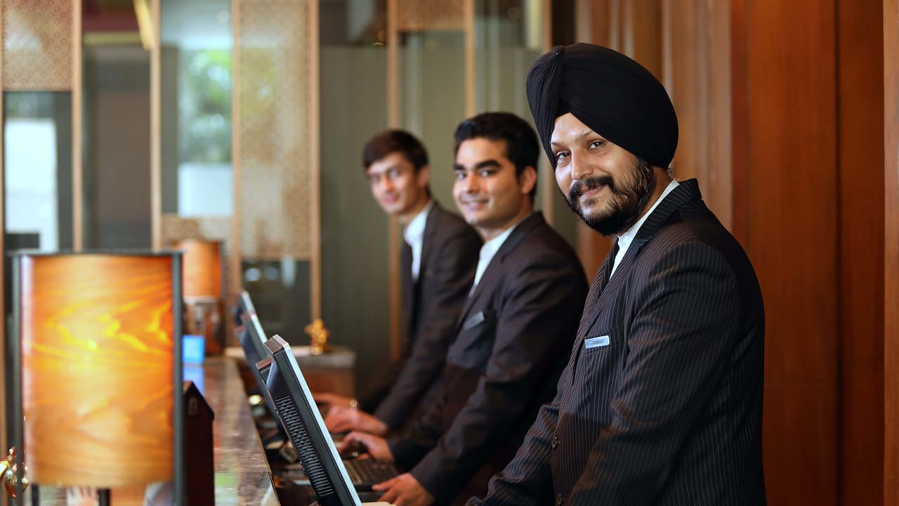 lobby clerks