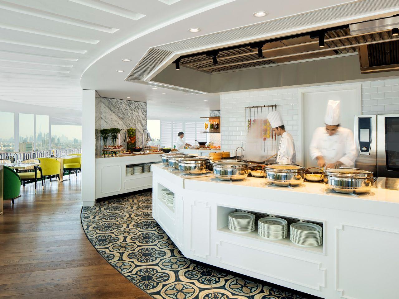 Al Dawaar Revolving Restaurant Live Kitchen