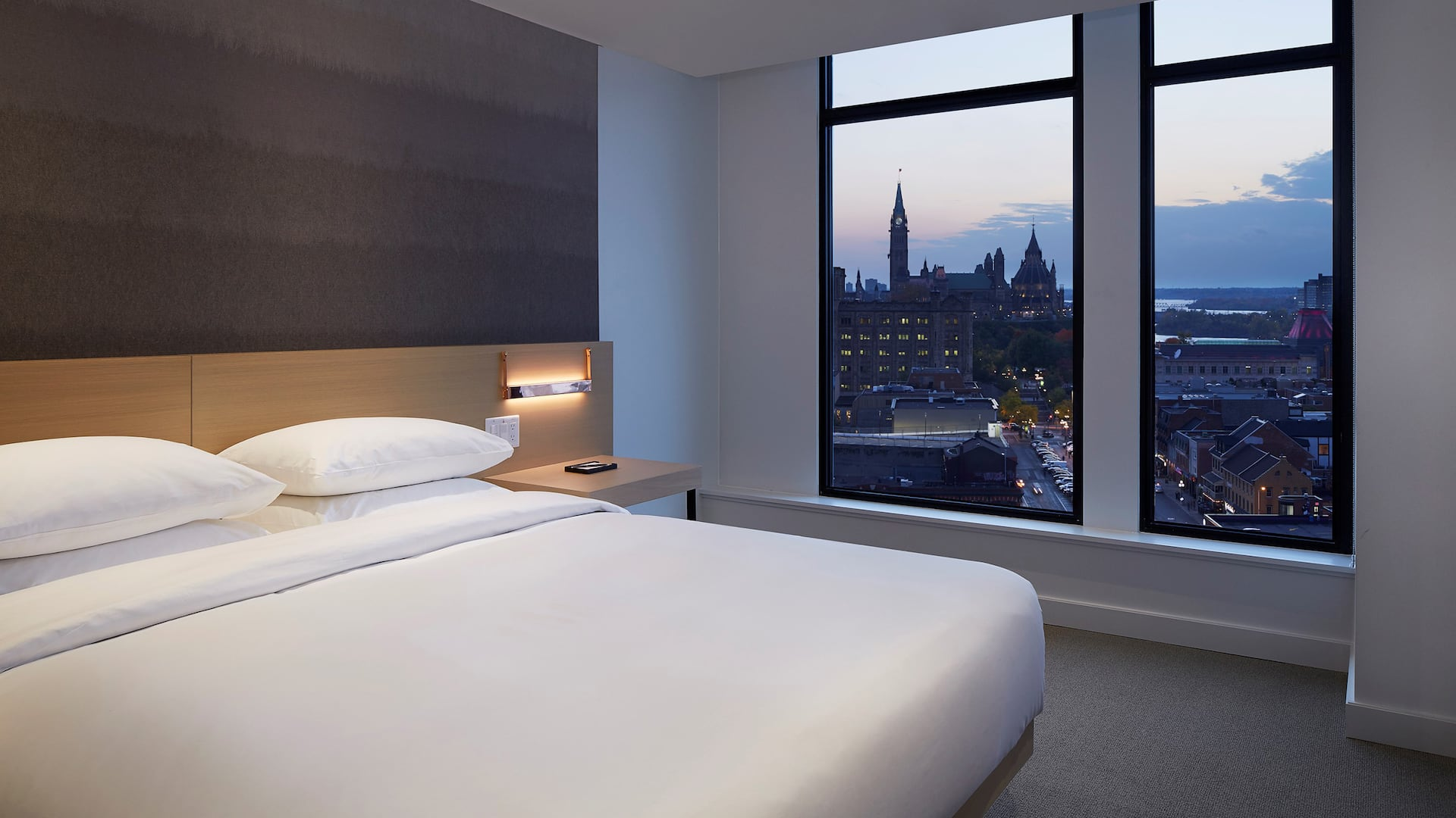 Andaz Ottawa Byward Market King Bedroom