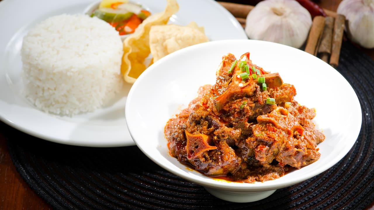 Oxtail Assam Pedas Tanjung Ria Kitchen Hyatt Regency Kinabalu