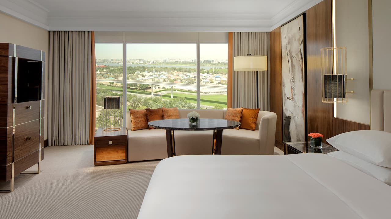 grand hyatt dubai 1 king bed with creek view
