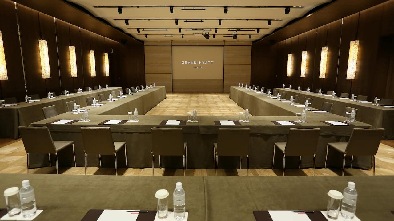 Grand Hyatt Tokyo Meeting Residence Basil U Shape グランド ハイアット 東京 レジデンスバジル 会議