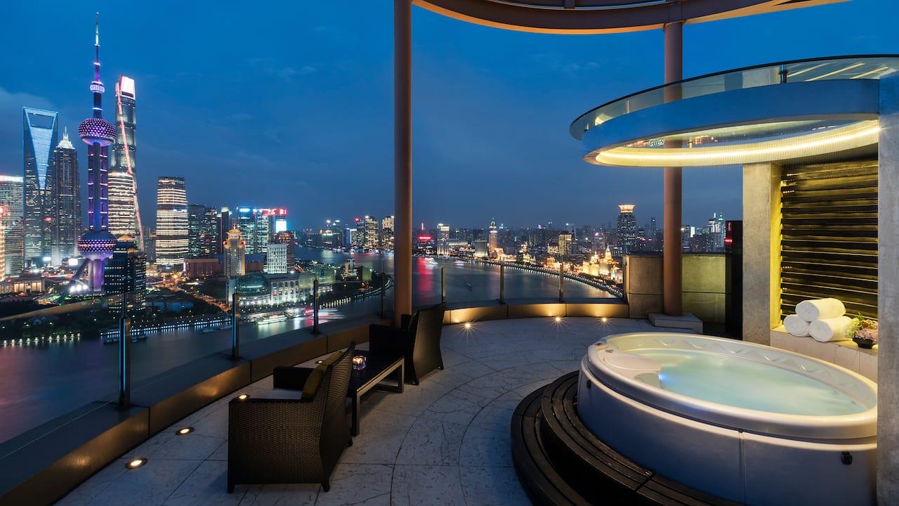 chairman suite terrace view
