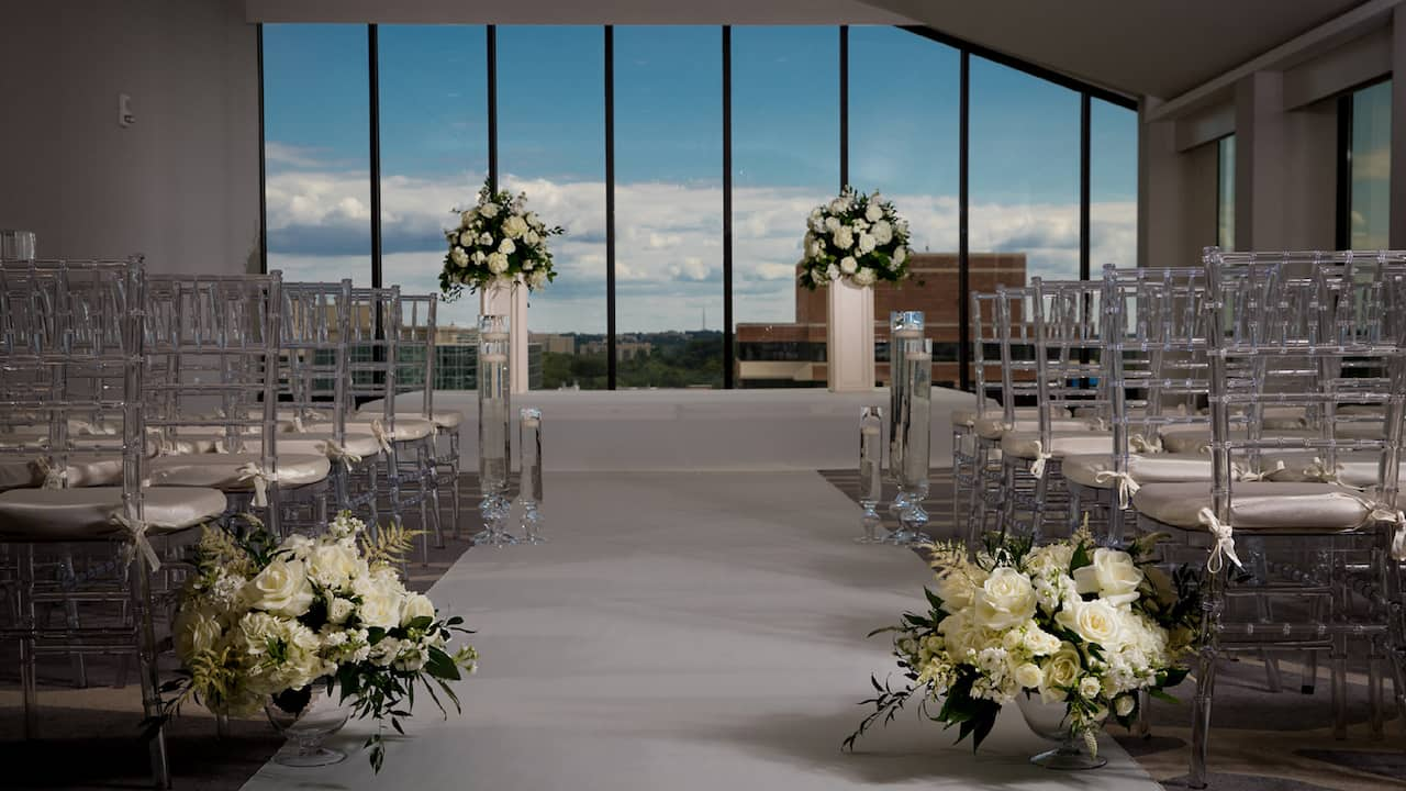 Wedding Rooftop Setup