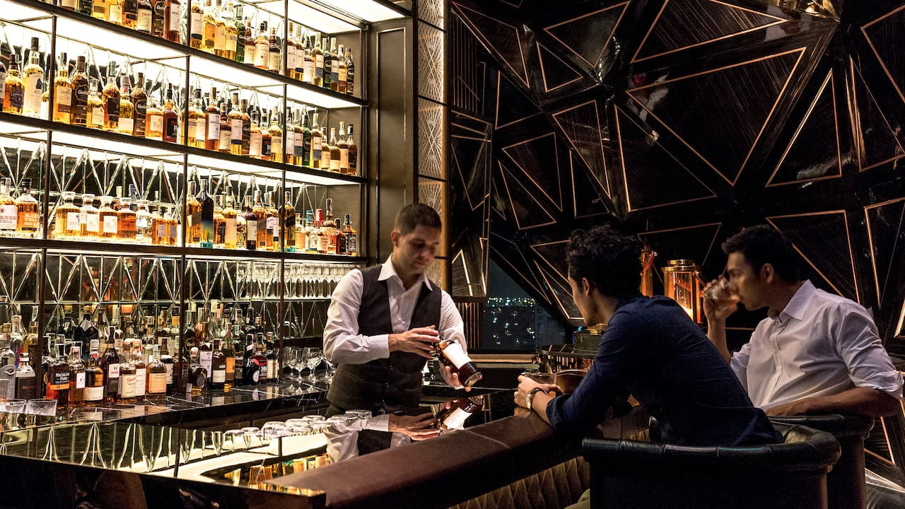 Penthouse Whisky Room Bar Touch