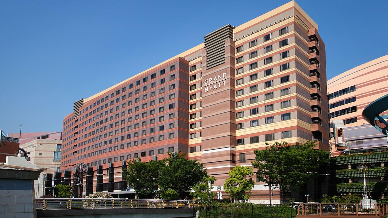 Grand Hyatt Fukuoka exterior