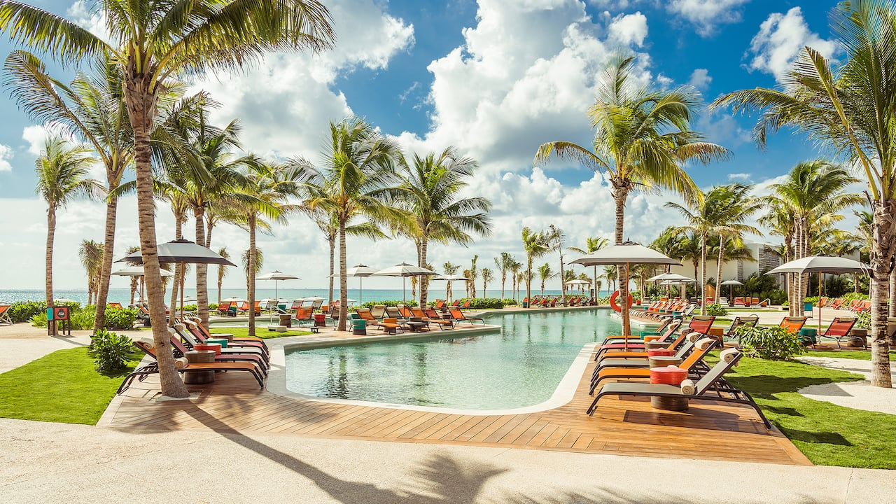 Andaz Mayakoba Beach Pool