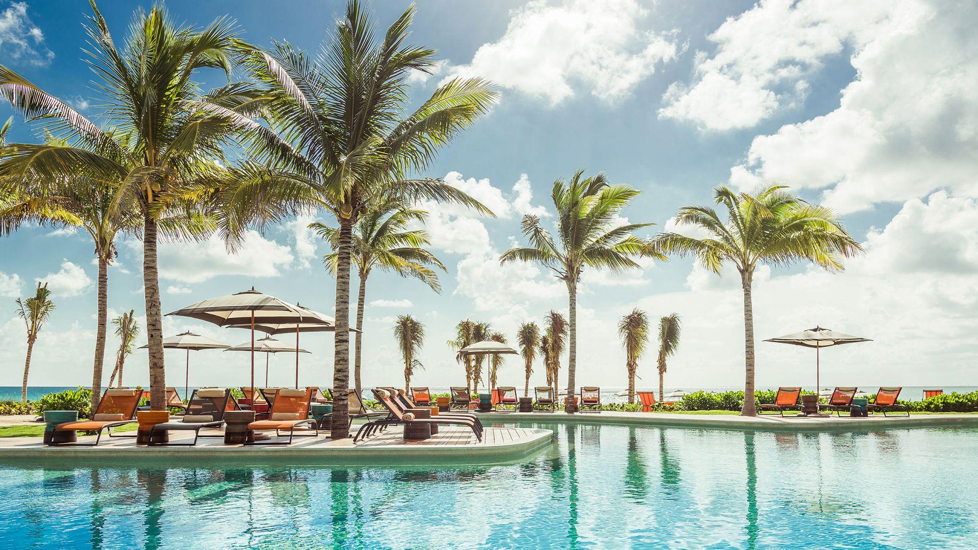 Andaz Mayakoba Resort Riviera Maya pool