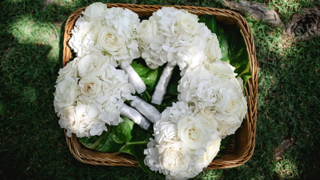 Grand Hyatt Bali Wedding (Hand Bouquet Basket)
