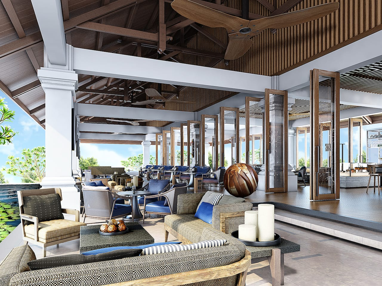 Veranda Lounge and Bar Nusa Dua Bali, Grand Hyatt