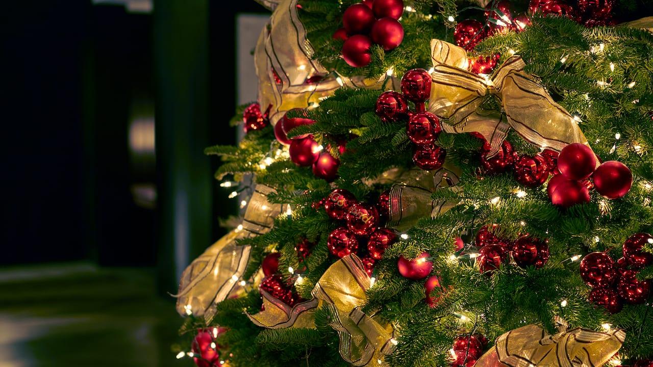 Weihnachtsbaum im Park Hyatt Zürich