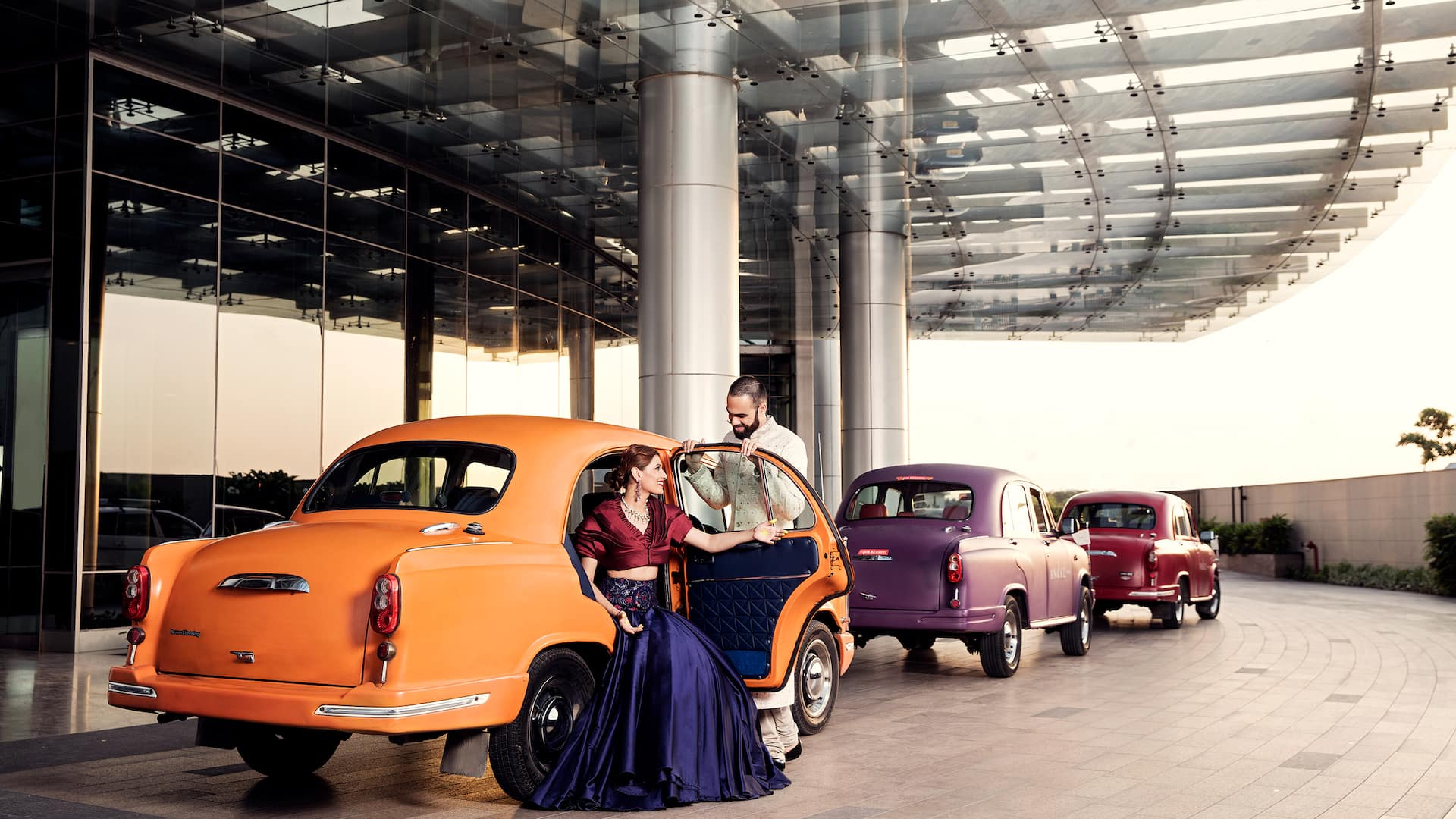 Andaz Delhi Couple in Car