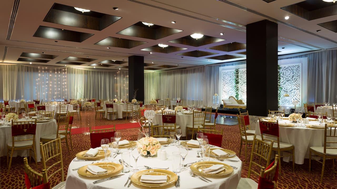 Kibo Ballroom Wedding