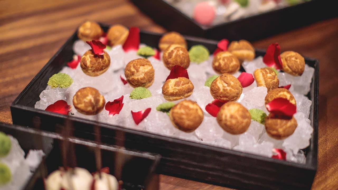Wedding reception food & drink menu Grand Hyatt Bali