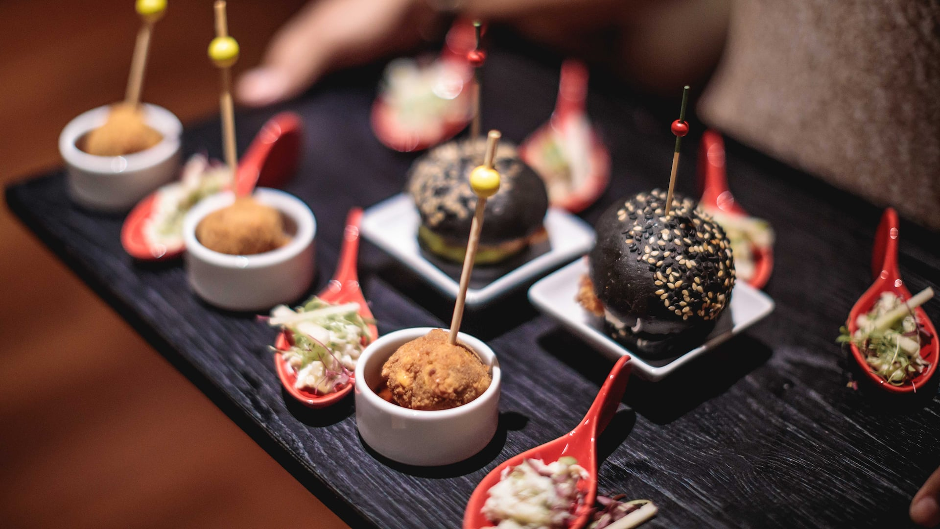 Canape and Cookies at Grand Hyatt Bali Restaurants