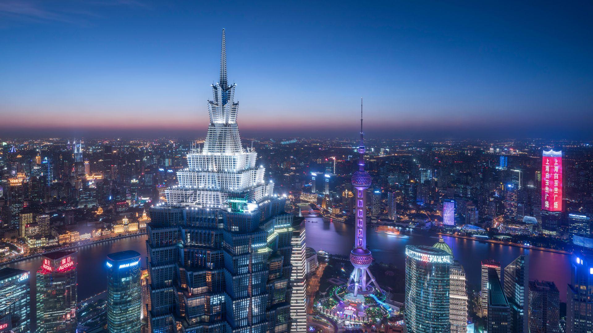 Grand Hyatt Shanghai exterior