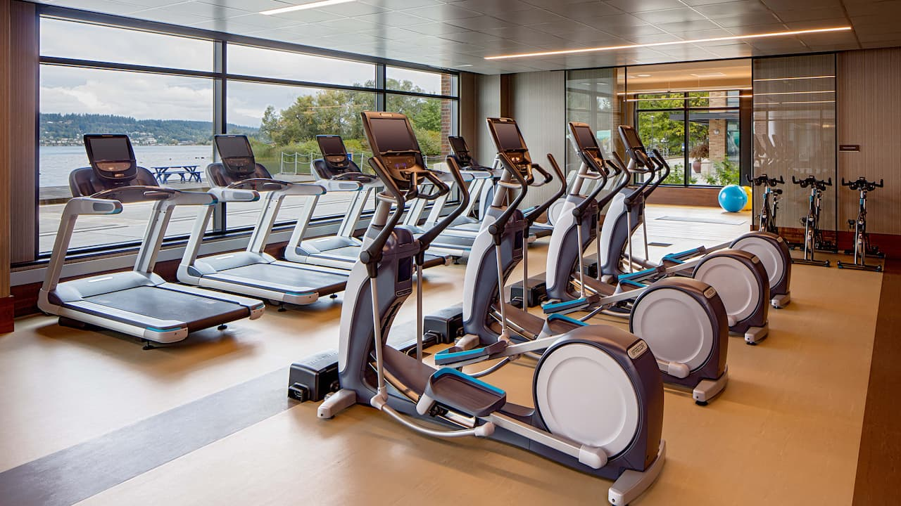 Fitness at Hyatt Regency Lake Washington