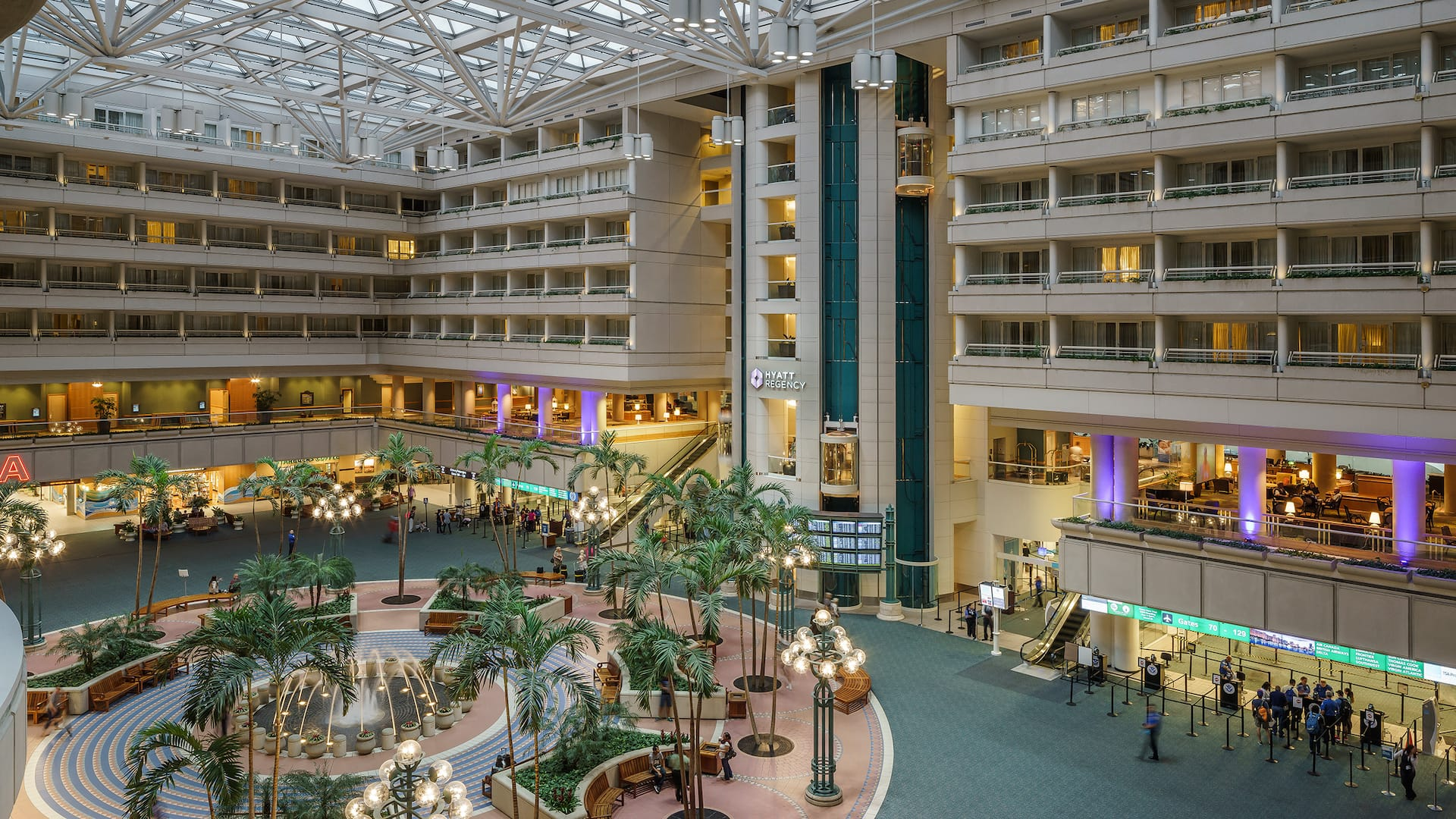 Lobby Hyatt Regency Orlando International Airport