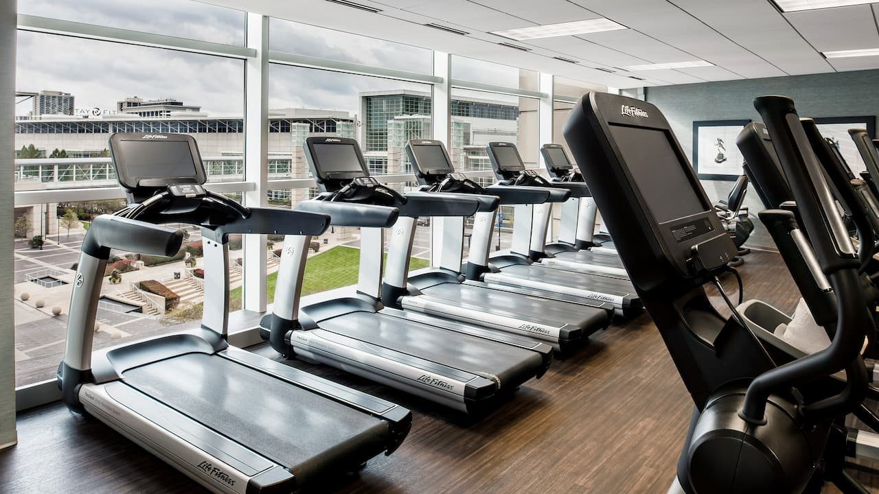 Hyatt Regency McCormick Place Fitness Center