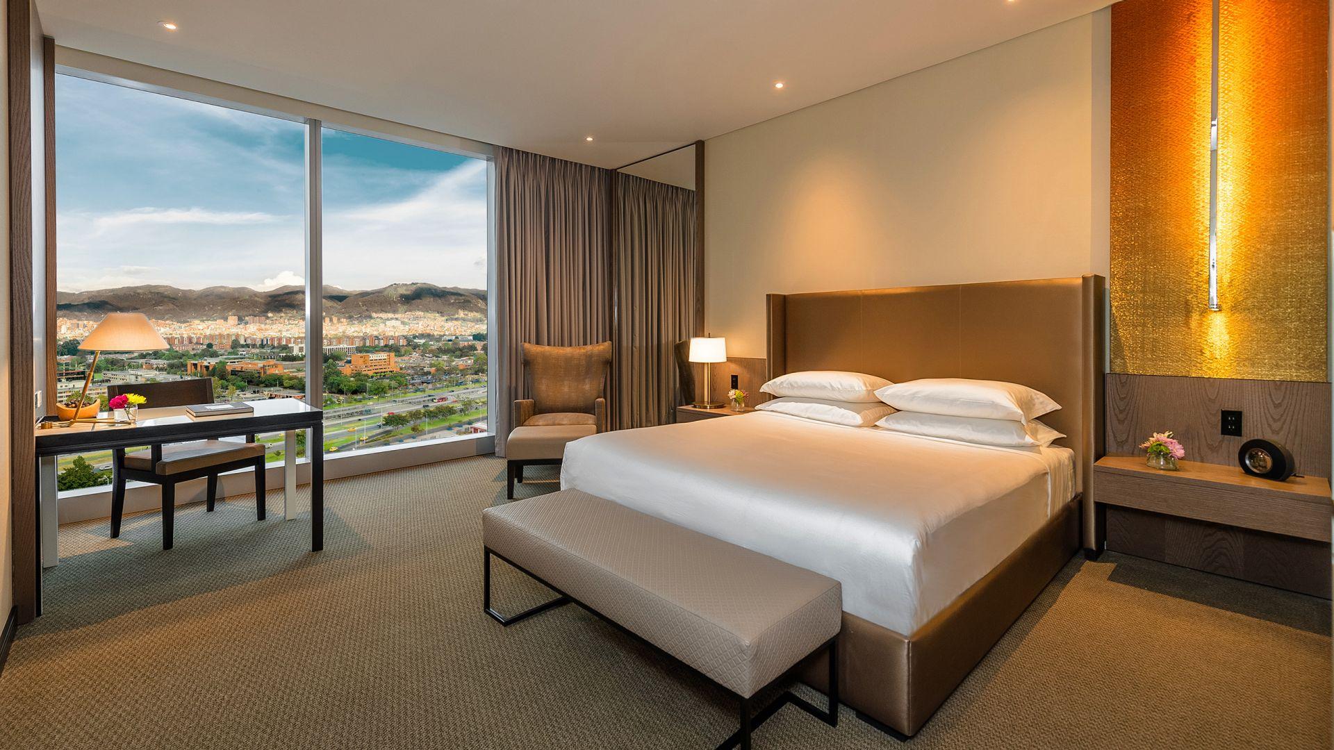 Grand Hyatt Bogota King Bedroom View