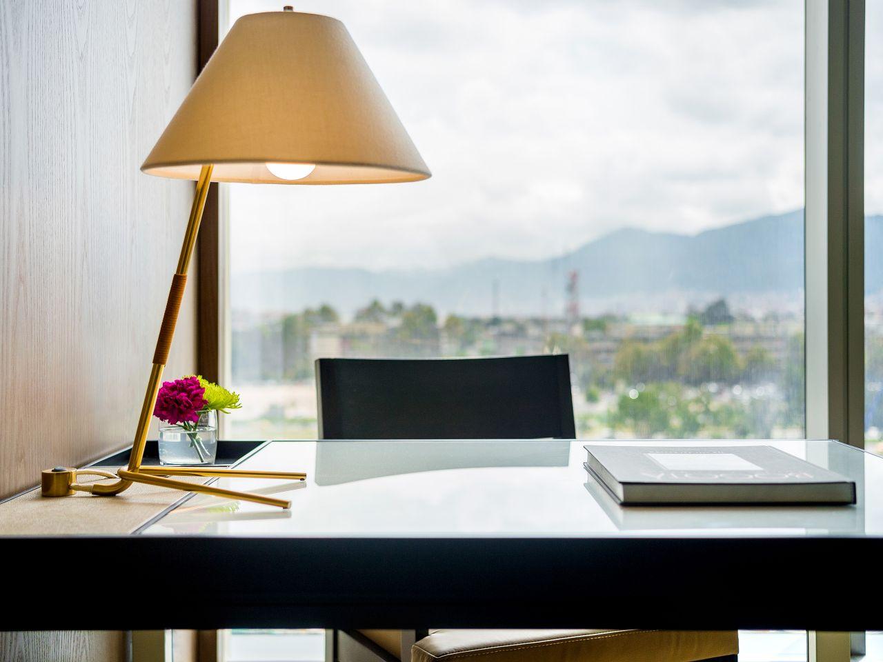 Grand Hyatt Bogota King Bedroom Desk