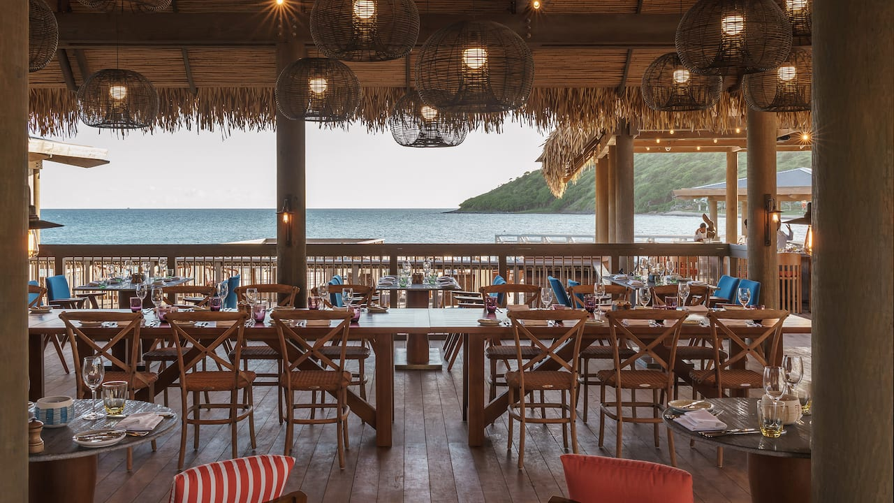 Park Hyatt St. Kitts Christophe Harbour Fisherman's Village Dining