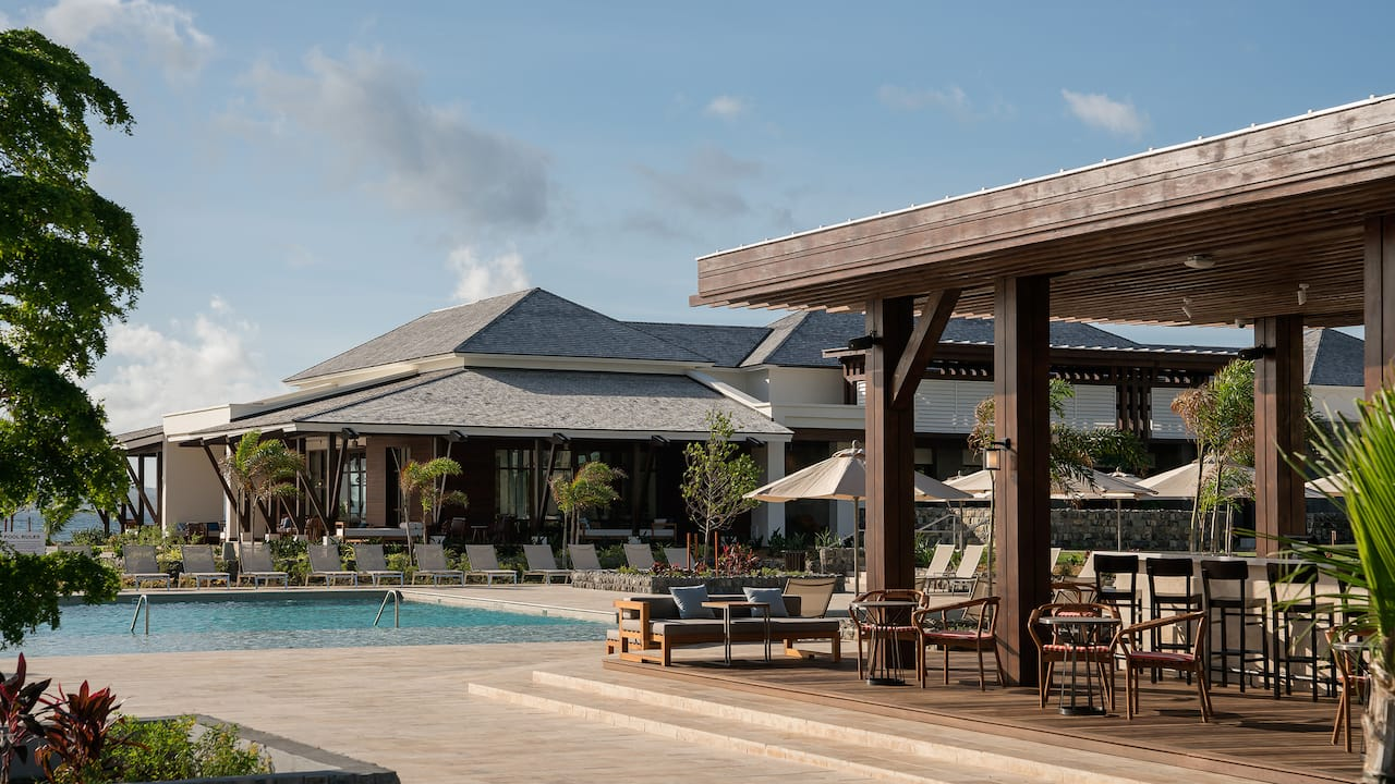 Park Hyatt St. Kitts Christophe Harbour Great House Dining