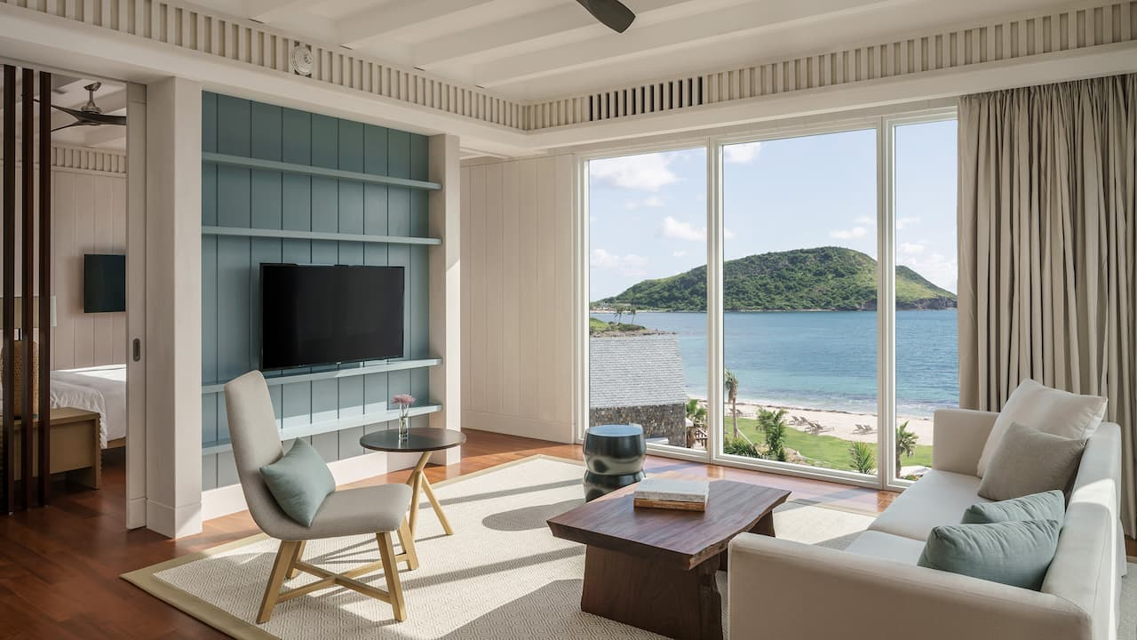 Park Hyatt St. Kitts Christophe Harbour Park Suite Living