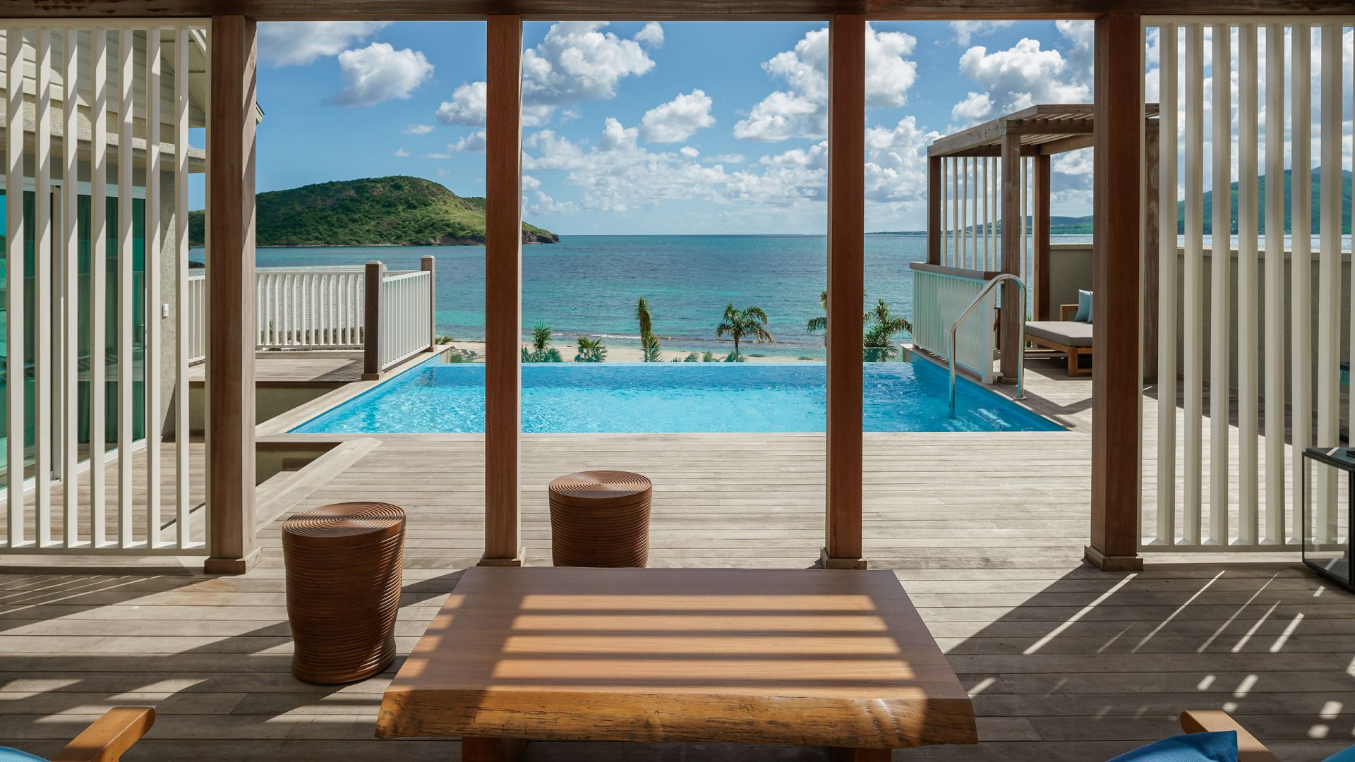 Park Hyatt St. Kitts Christophe Harbour Beach Cabana