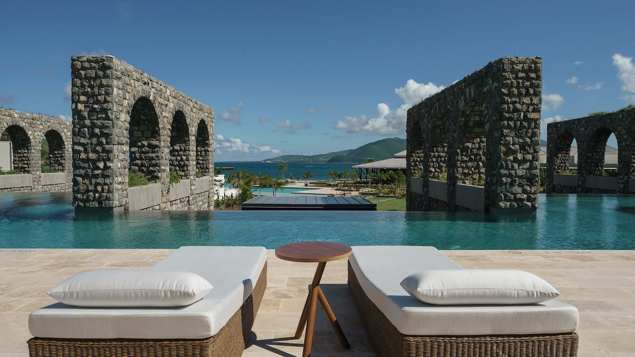 Park Hyatt St. Kitts Christophe Harbour Rampart Pool
